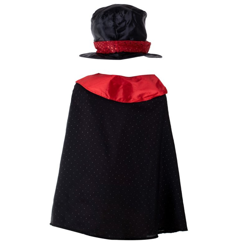 Kostium strój karnawałowy magik czarodziej 3-8 lat
