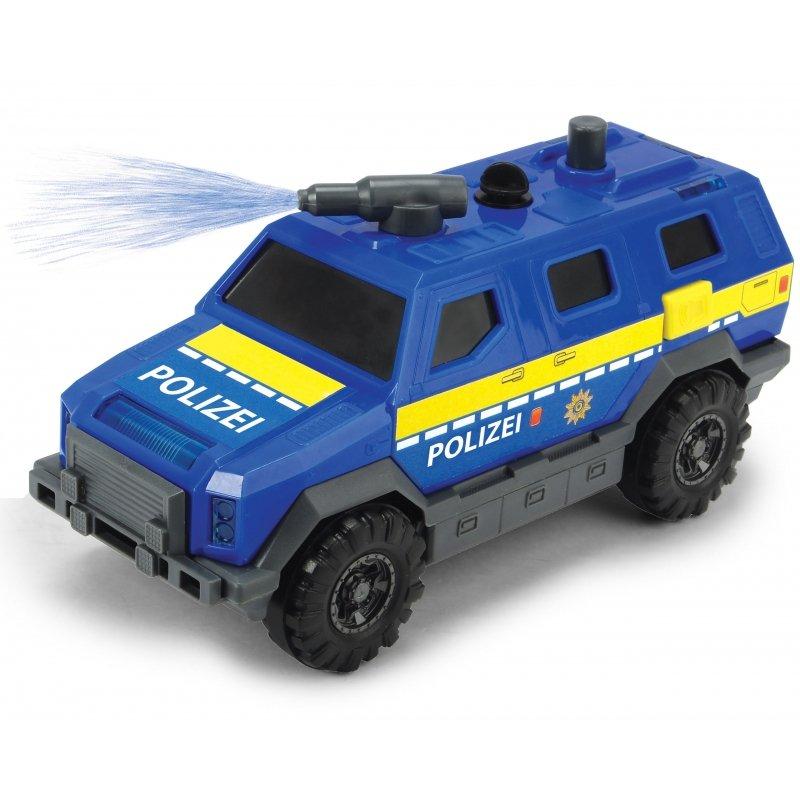 Dickie SOS Policyjna jednostka SWAT + 3 Samochody Światło Dźwięk