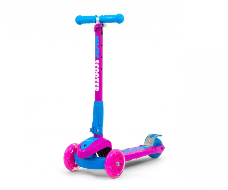 Milly Mally Scooter Magic Pink-Blue