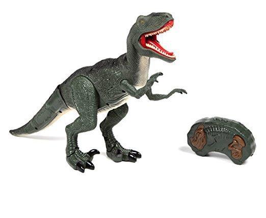 Interaktywny Dinozaur Velociraptor RC + dźwięki