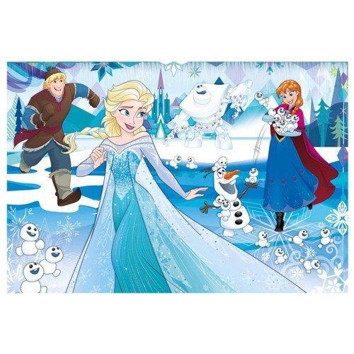 Puzzle 24 el. MAXI SUPER KOLOR  Frozen 62x42