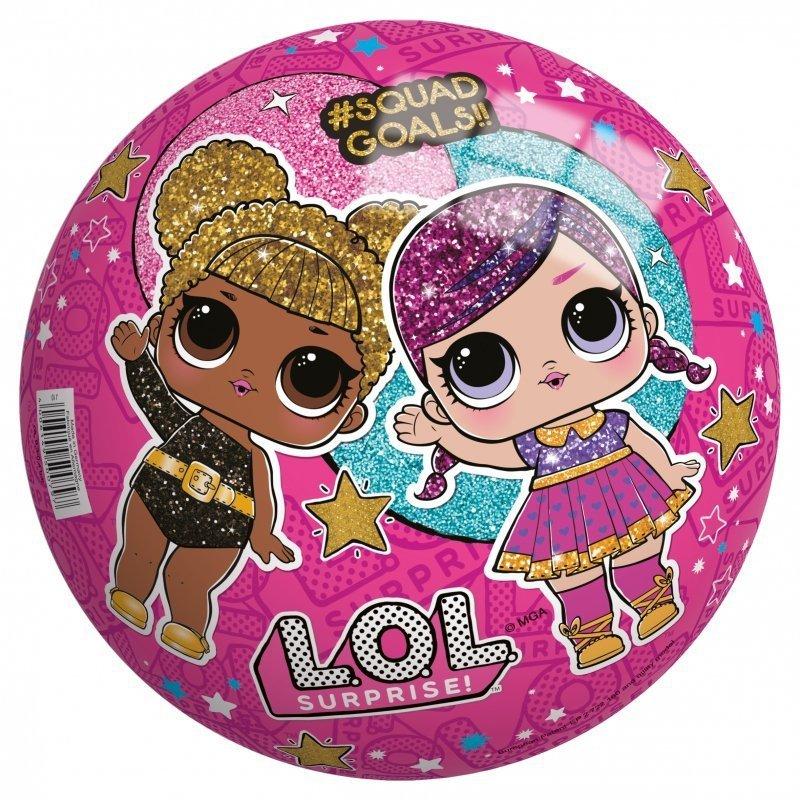 L.O.L. SURPRISE piłka 23 cm perłowa Glitter
