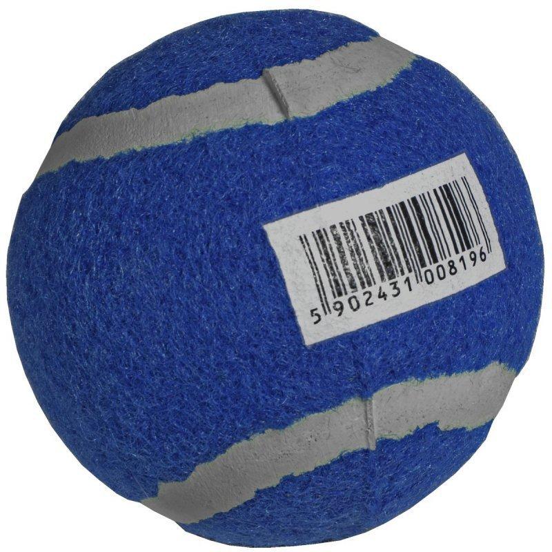 Piłka tenis ziemny  1 szt niebieska