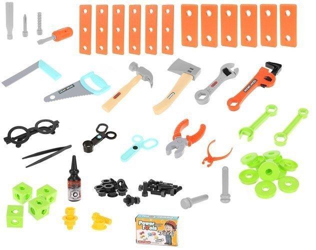 Zestaw konstrukcyjny dla dzieci klocki narzędzia