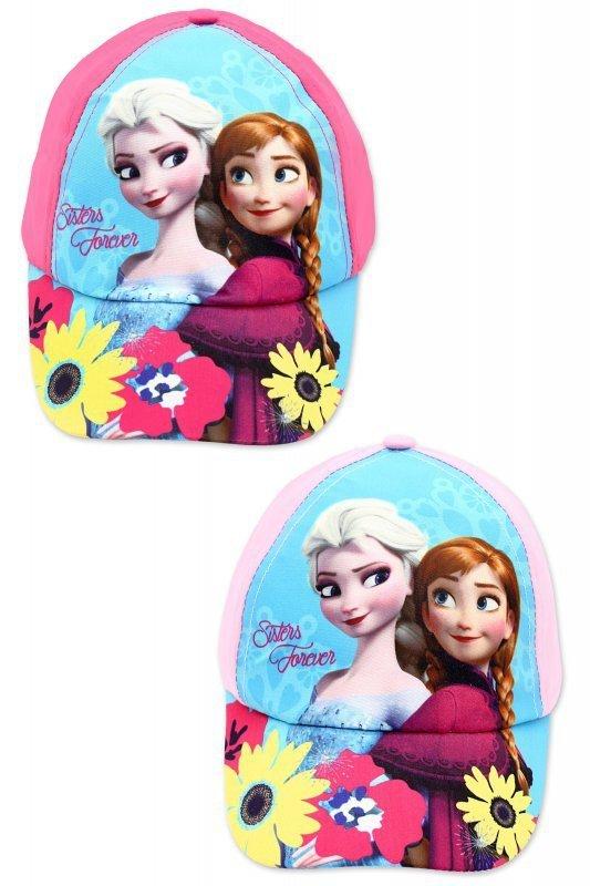 Czapka z daszkiem Frozen – Kraina Lodu  różowy Rozmiar: 52