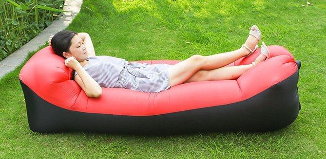Lazy-BAG-SOFA-łóżko-dmuchane-leżak-3-gen-czerwona-200x70-1
