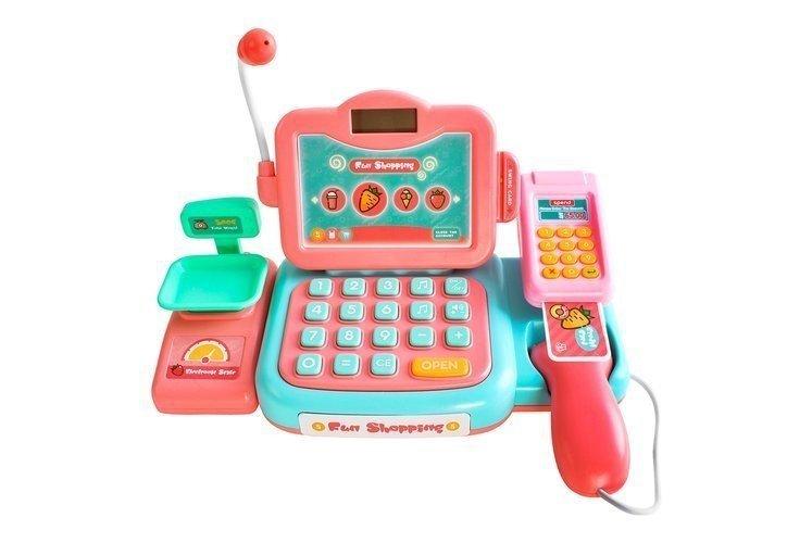 Kasa-fiskalna-dla-dzieci-akc-skaner-dzwięk-mikrofon-1