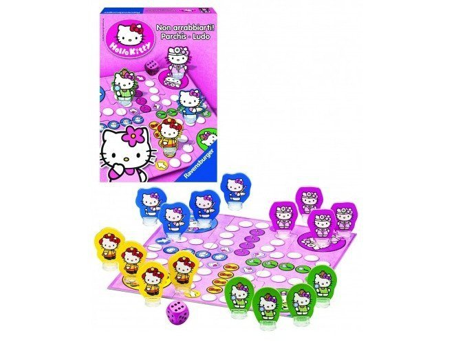 Gra Chińczyk Hello Kitty