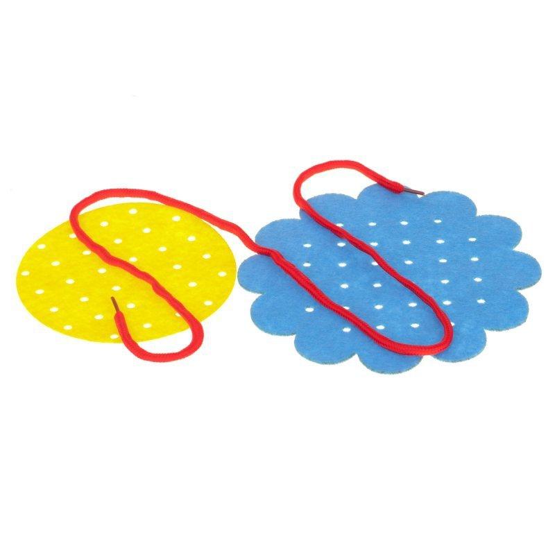 Zabawka-edukacyjna-nauka-szycia-zestaw-różowo-czerwony-2