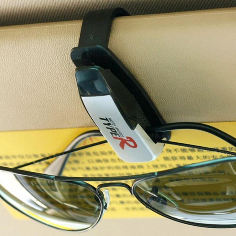 Uniwersalny Uchwyt Klips na Okulary srebny