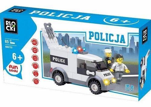 Klocki Blocki MyPolice Auto Policyjne 85 el 6+