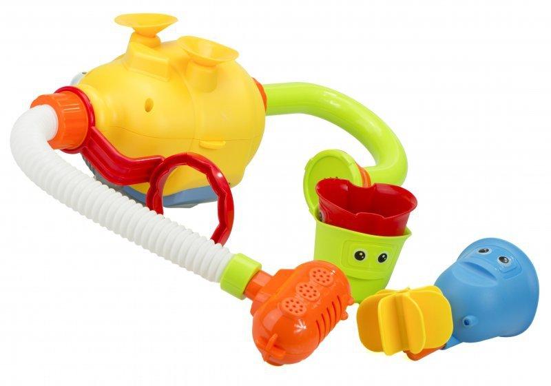 Zabawka do kąpieli nurek prysznic przyssawki młynne