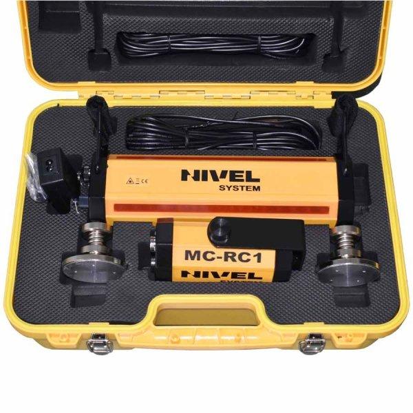 Nivel system NL610 Digital z laserowym systemem kontroli maszyn budowlanych