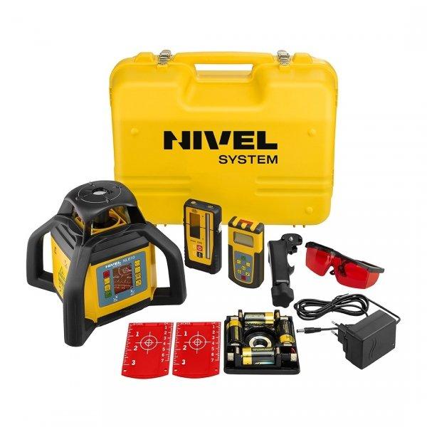 Nivel System NL610 Digital znakomity dwuspadkowy niwelator laserowy.