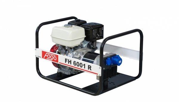 Agregat prądotwórczy jednofazowo FOGO FH 6001 R