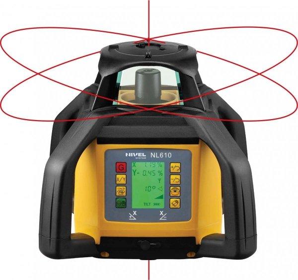 Nivel System NL600 Digital zestaw z łatą i statywem korbowym