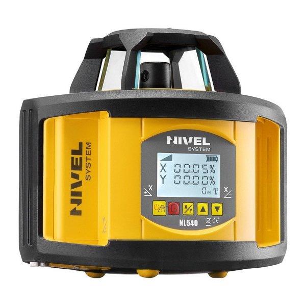 Nivel System NL540 znakomity dwuspadkowy niwelator laserowy.