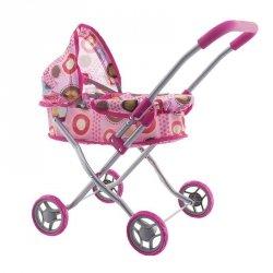 Wózek dla lalek 9325d m1308 pink