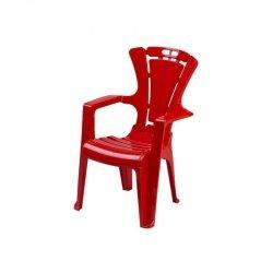 Krzesło dziec.antypoś.czerwone