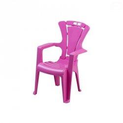 Krzesło dziec.antypoś.c.różowy