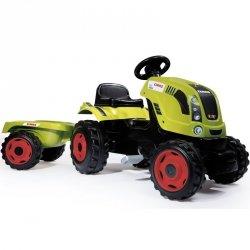 Smoby Traktor Na Pedały Claas z Przyczepką