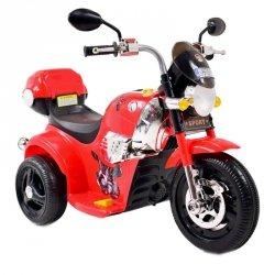 MOTOR CHOPPER SPORT Z KUFERKIEM, KOGUTEM I  DŹWIĘKAMI/X818