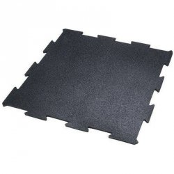Mata puzzle gumowa Pavi Sorte 100x100x1,5cm czarna
