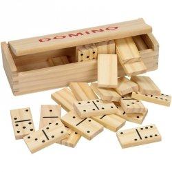 Domino drewniane 28 elementów