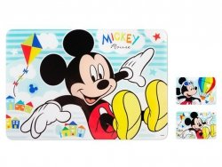 Podkładka na stół dla dziecka myszka Mickey 9m+ LULABI