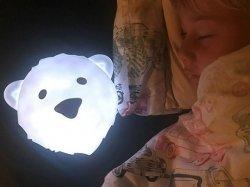 Lampka ścienna LED niedźwiedź Björn FLOW AMSTERDAM