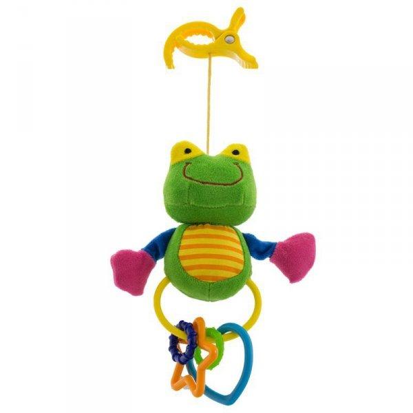 Zabawka klips żaba