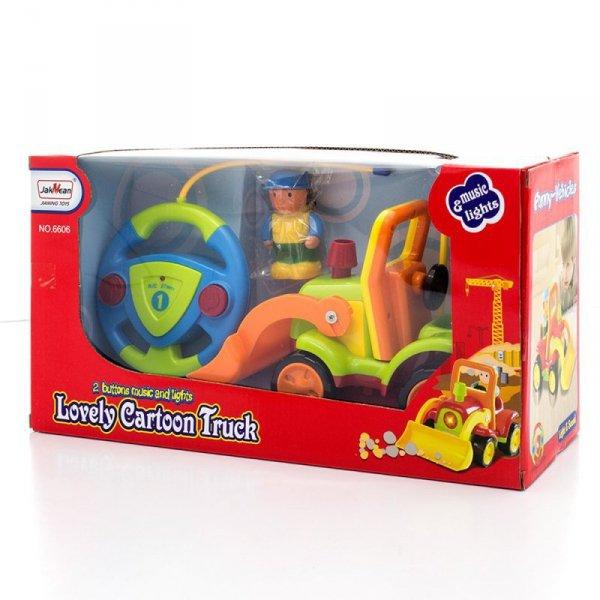 Zabawka koparka sterowana