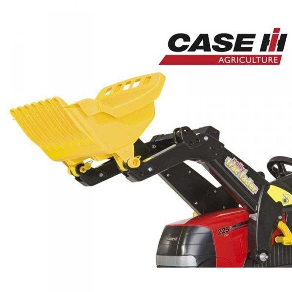 Rolly Toys rollyFarmTrac Traktor Case Puma na pedały nakładka wyciszająca + łyżka