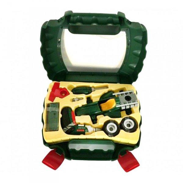 KLEIN Walizka Z Narzędziami I Wkrętarką Bosch + Auto