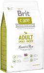 Brit Care N Adult Small Breed Lamb&rice 3kg