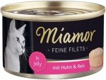 Miamor 74043 Feline Filets Kurczak + Ryz 100gr