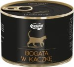 Natural Taste Cat 9800 Bogate w kaczkę 185g