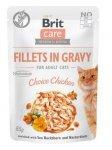 Brit 1195 Care Cat 85g Choice Chicken saszetka