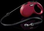 Flexi 2250 Classic S Cord 5m 12kg czerwona