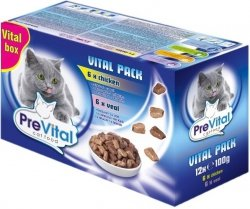PreVital 10940 Multipack 12*100gr mix w galaretce