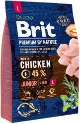 Brit Premium By Nature L Junior 3kg