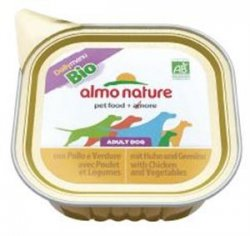 Almo 0300 Daily Bio Kurczak Warzywa dla psa 100g