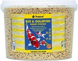 Trop. Pond 40377 Koi&Goldfish Basic stick 11l wiad