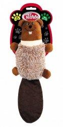 Pet Nova 0911 Bóbr pluszowy piszczący 47cm