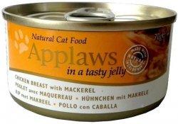 Applaws 1035 Cat Kurczak z makrelą 70g puszka gal