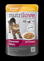 Nutrilove Cat 11459 saszetka 85g kurczak galaretka