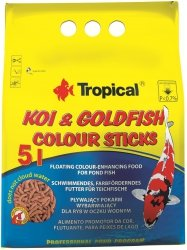 Trop. Pond 40655 Koi&Goldfish Color Stick 5l worek