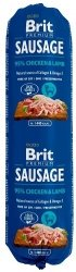 Brit Sausage Chicken & Lamb 800g