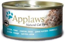 Applaws 1036 Cat Kitten Tuna 70g puszka dla kociąt