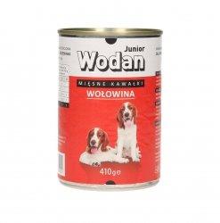 WODAN 410g Junior z wołowiną Puszka dla psa
